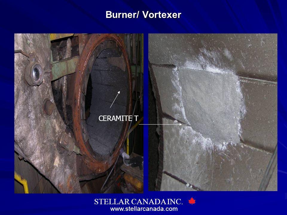 www.stellarcanada.com STELLAR CANADA INC. Burner/ Vortexer CERAMITE T