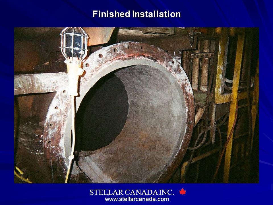 www.stellarcanada.com STELLAR CANADA INC. Finished Installation