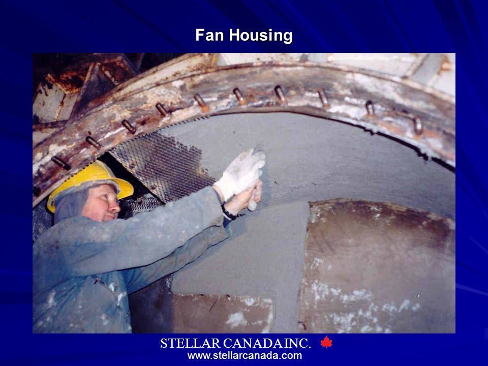 www.stellarcanada.com STELLAR CANADA INC. Fan Housing