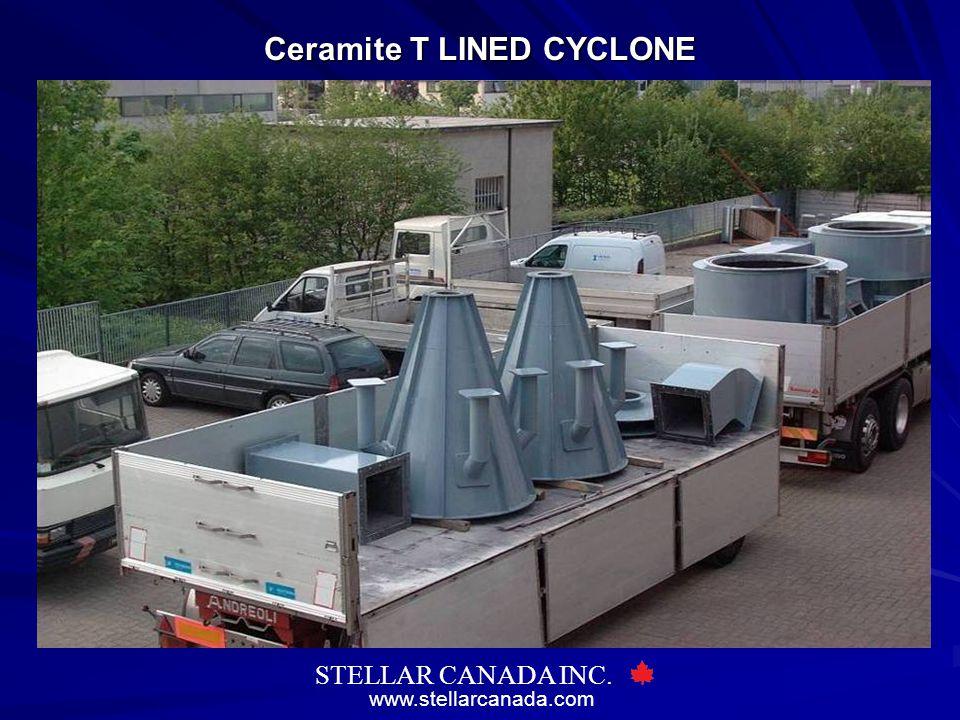 www.stellarcanada.com STELLAR CANADA INC. Ceramite T LINED CYCLONE