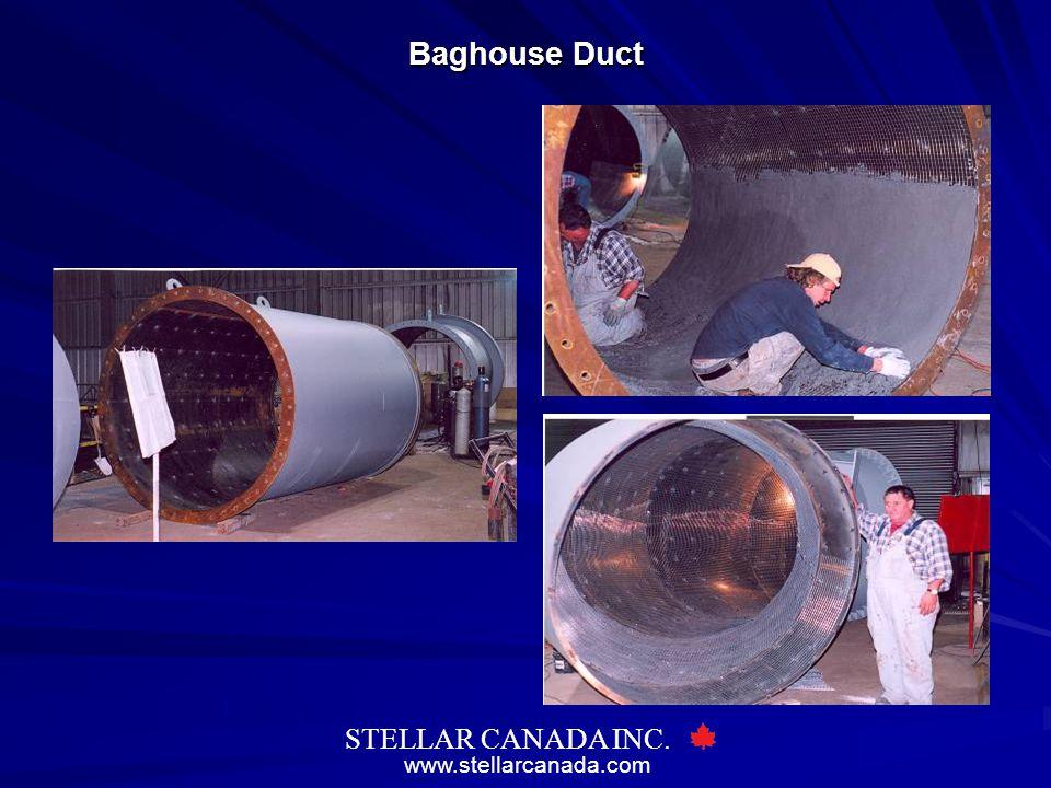 www.stellarcanada.com STELLAR CANADA INC. Baghouse Duct