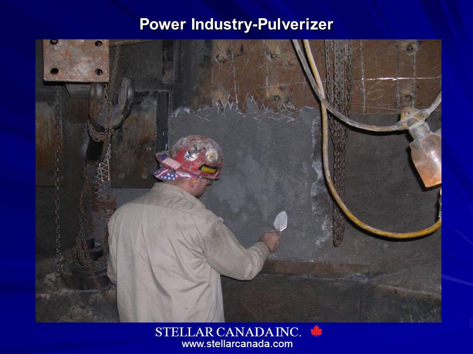 www.stellarcanada.com STELLAR CANADA INC. Power Industry-Pulverizer
