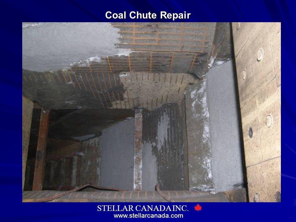 www.stellarcanada.com STELLAR CANADA INC. Coal Chute Repair