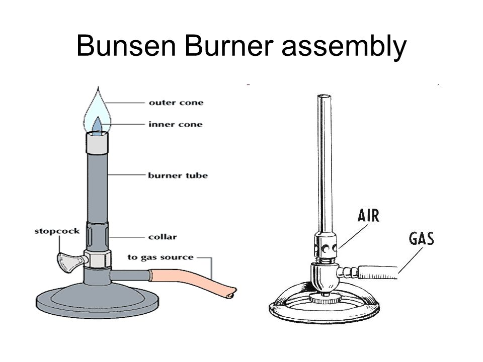 Bunsen Burner assembly