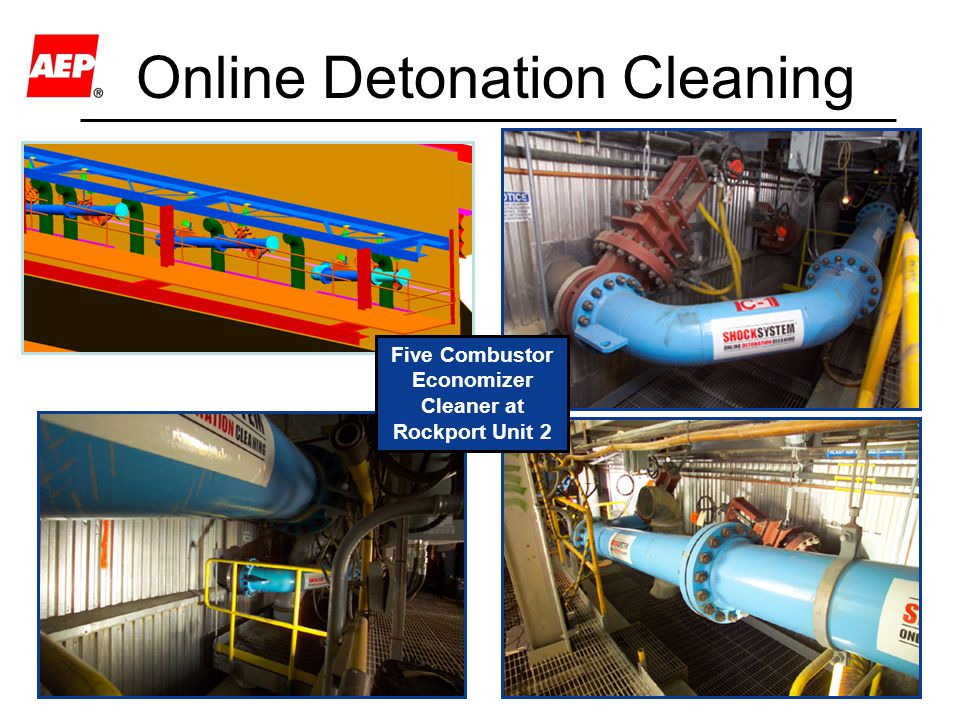14 Online Detonation Cleaning Five Combustor Economizer Cleaner at Rockport Unit 2