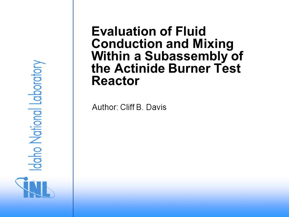 12/15 Radial heat transport flattened the temperature profiles at high flows but did not significantly affect the temperature profiles at low flows 100% power and flow The effect of radial mixing was larger than conduction for 100% flow, but was smaller for <10% flow The 1D model significantly underpredicts the maximum fluid temperature at high flows 1% power and flow