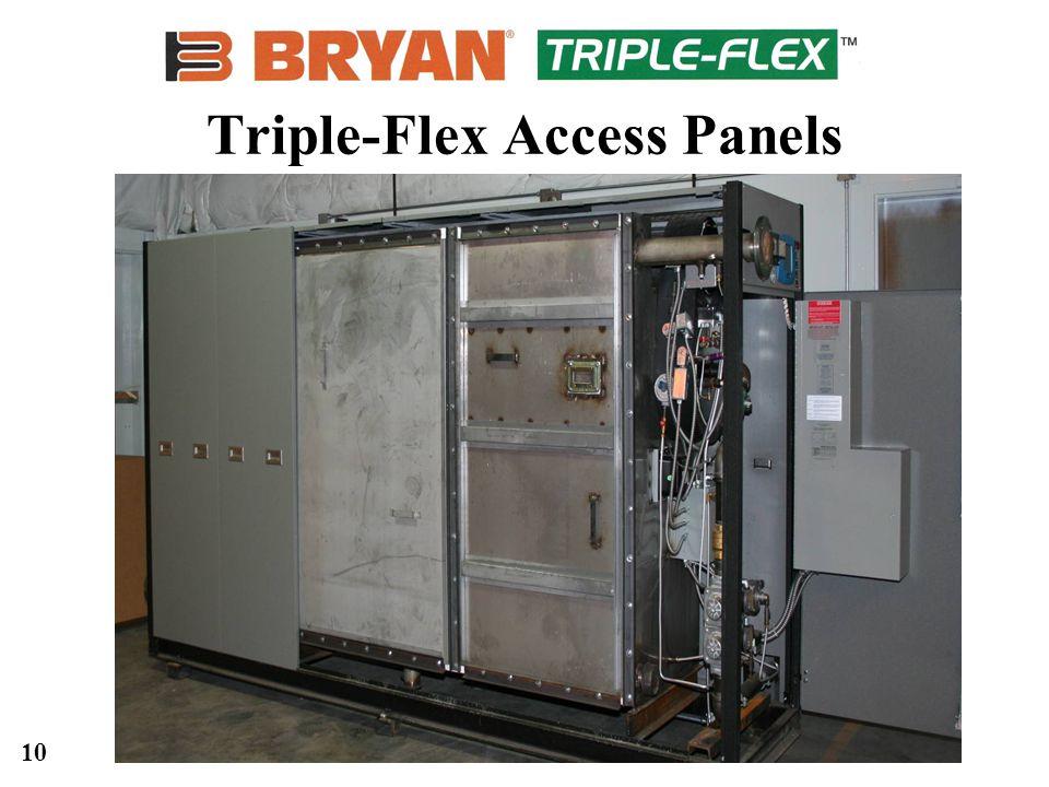 10 Triple-Flex Access Panels