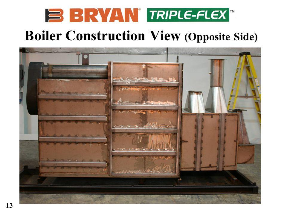 13 Boiler Construction View (Opposite Side)