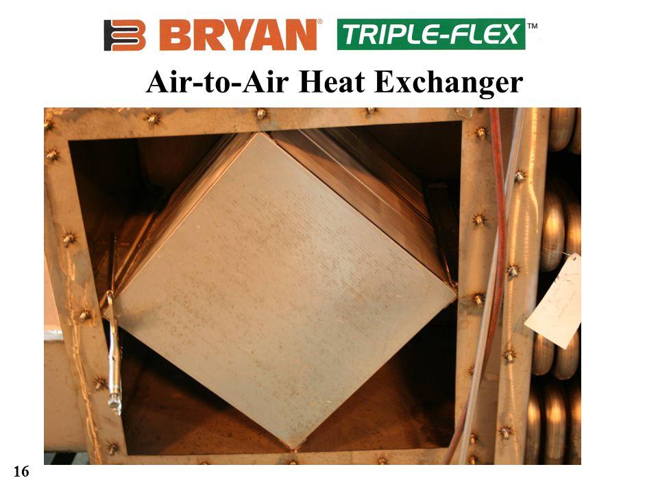16 Air-to-Air Heat Exchanger