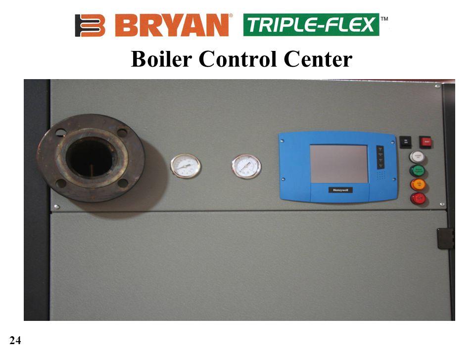 24 Boiler Control Center