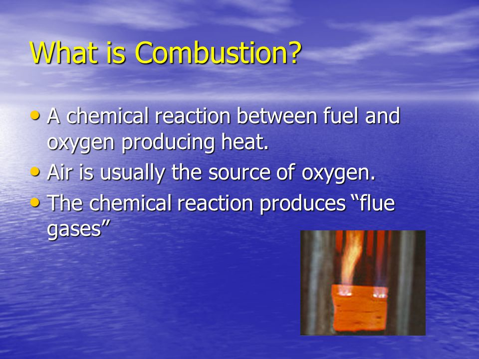 Stoichiometry The technical term used to define the theoretical amount of air or oxygen required for complete combustion of a fuel is the Stoichiometric ratio.