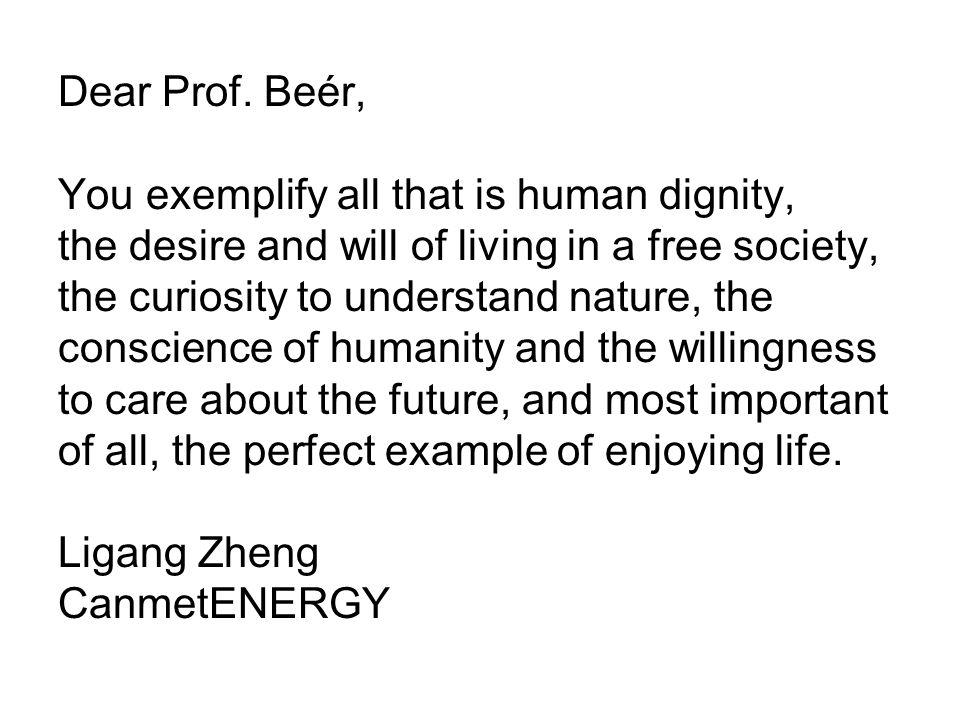 Dear Prof.