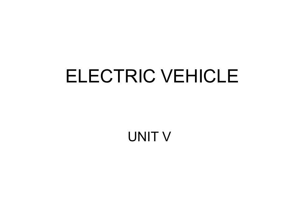 ELECTRIC VEHICLE UNIT V