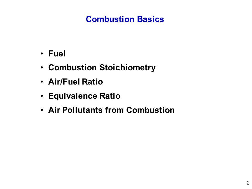Fuel  Gaseous Fuels Natural gas Refinery gas  Liquid Fuels Kerosene Gasoline, diesel Alcohol (Ethanol) Oil  Solid Fuels Coal (Anthracite, bituminous, subbituminous, lignite) Wood 3