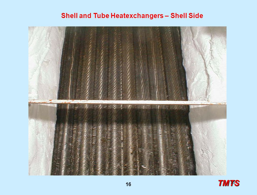 TMTS 16 Shell and Tube Heatexchangers – Shell Side