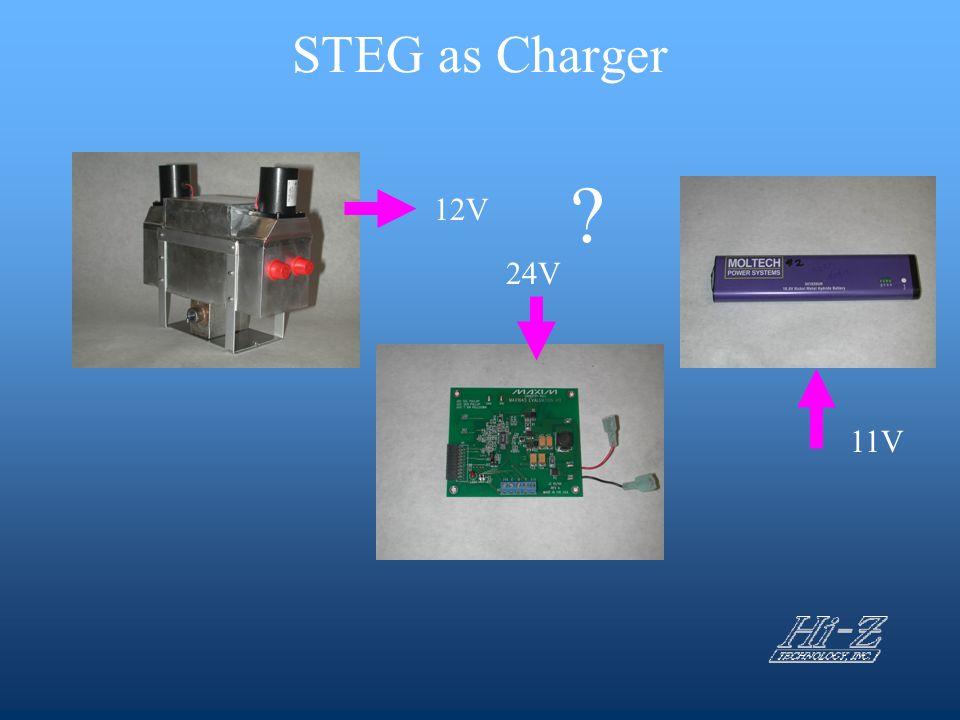 STEG as Charger 12V 11V 24V ?