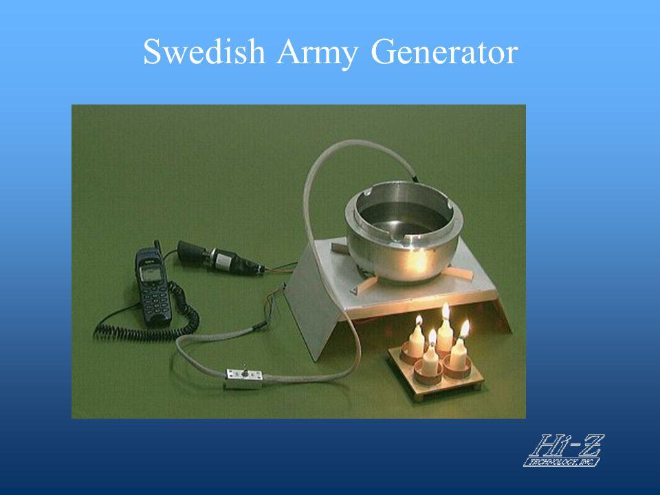 Swedish Army Generator