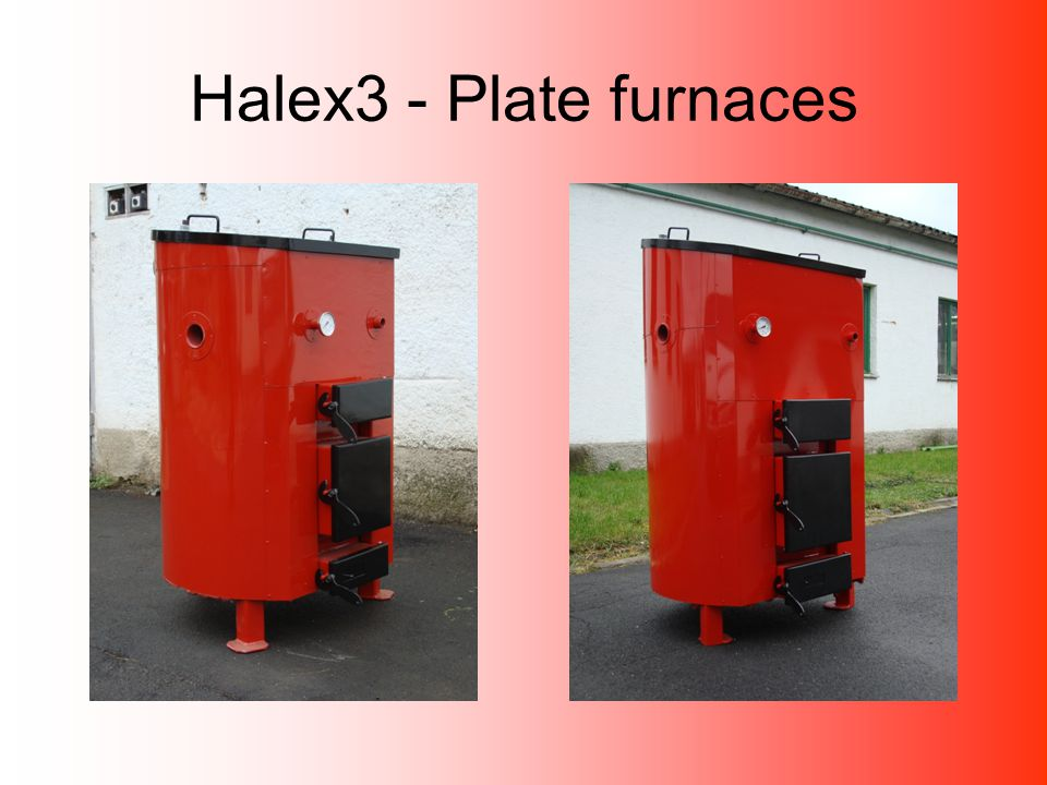 Halex3 - Plate furnaces