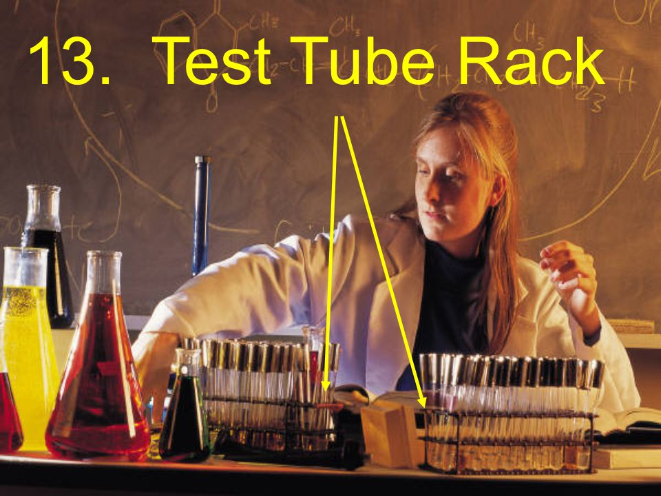 12. Bunsen Burner To heat objects in a laboratory experiment