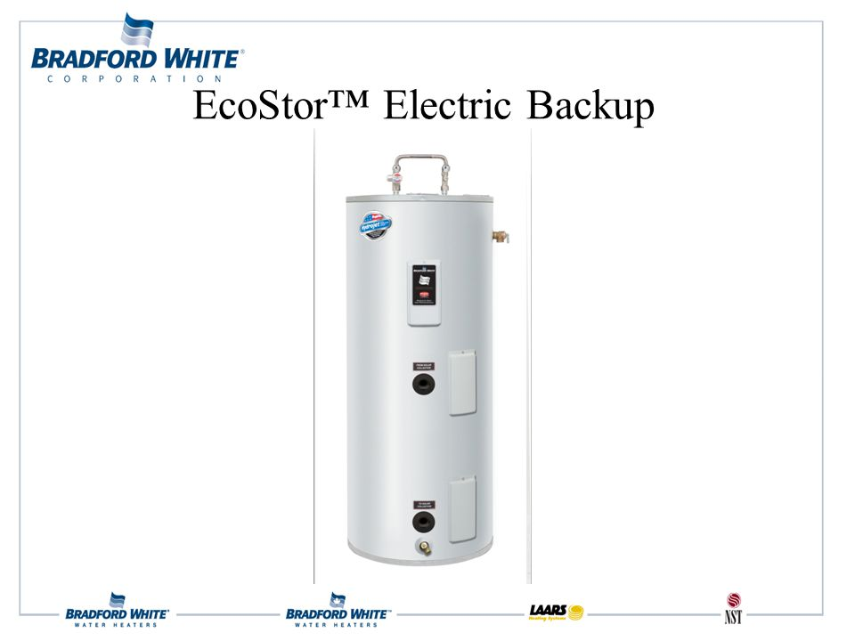 EcoStor™ Electric Backup