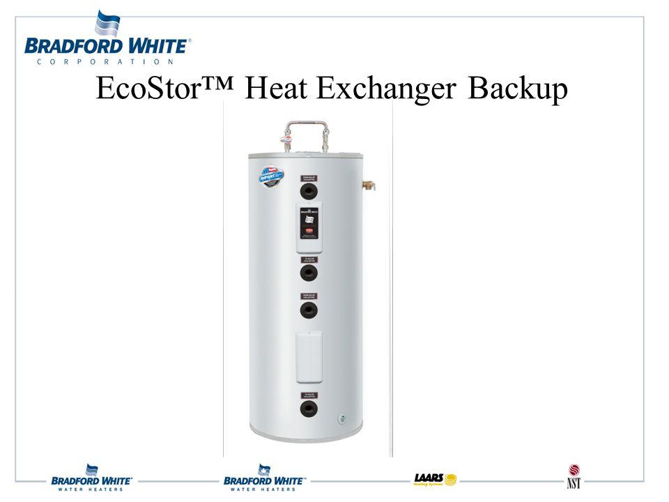 EcoStor™ Heat Exchanger Backup