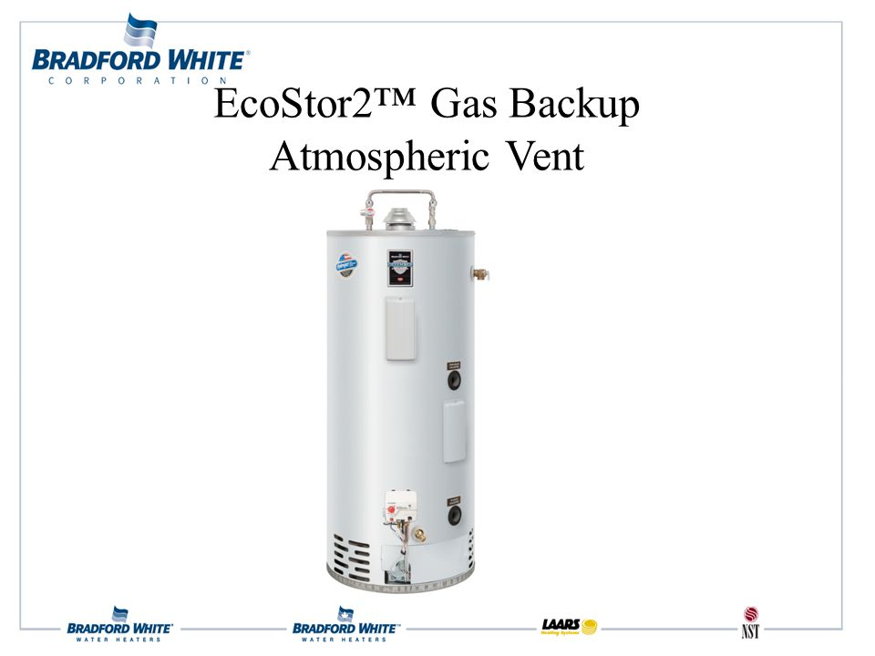 EcoStor2™ Gas Backup Atmospheric Vent