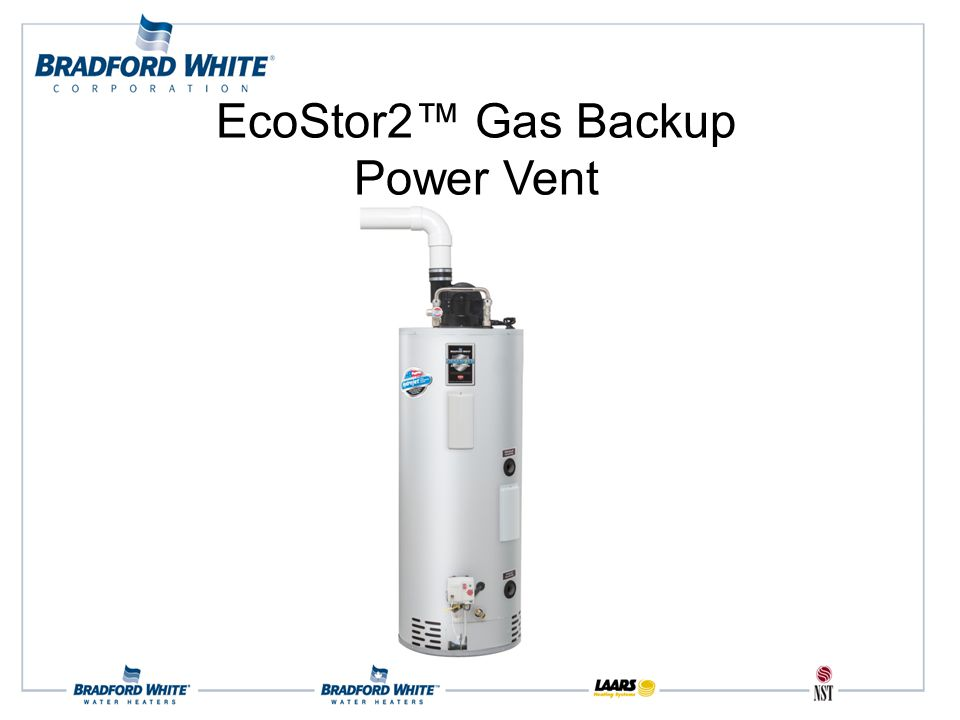EcoStor2™ Gas Backup Power Vent