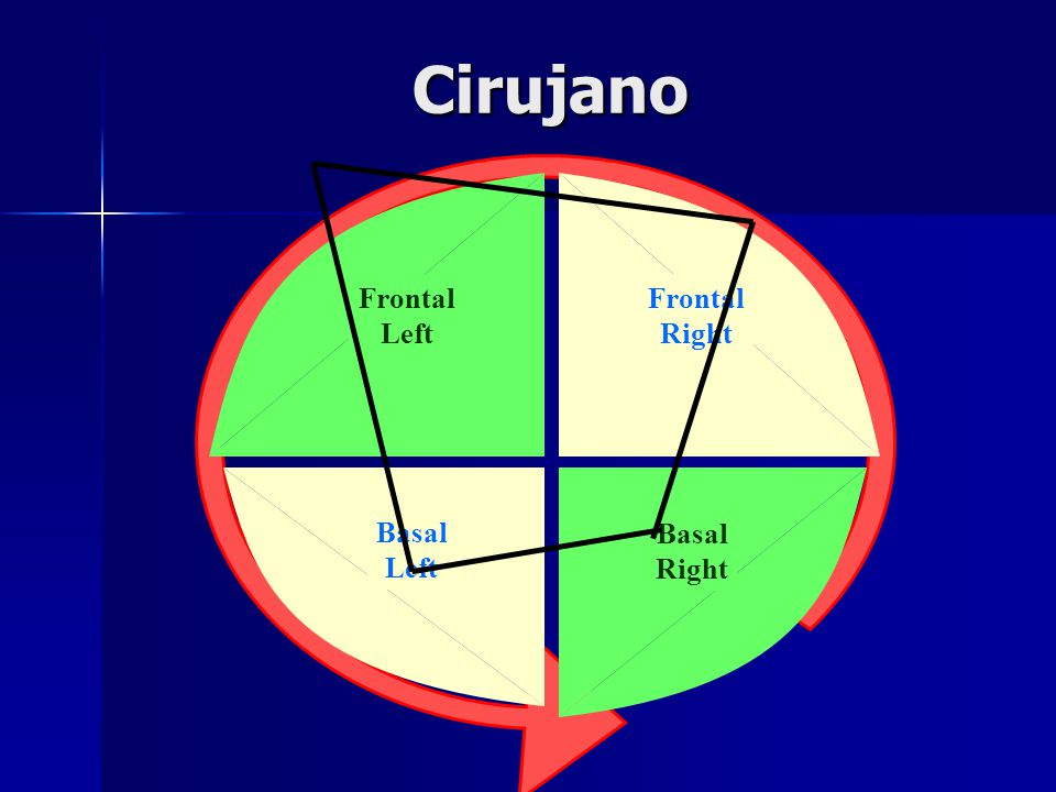 Cirujano Frontal Right Frontal Left Basal Left Basal Right