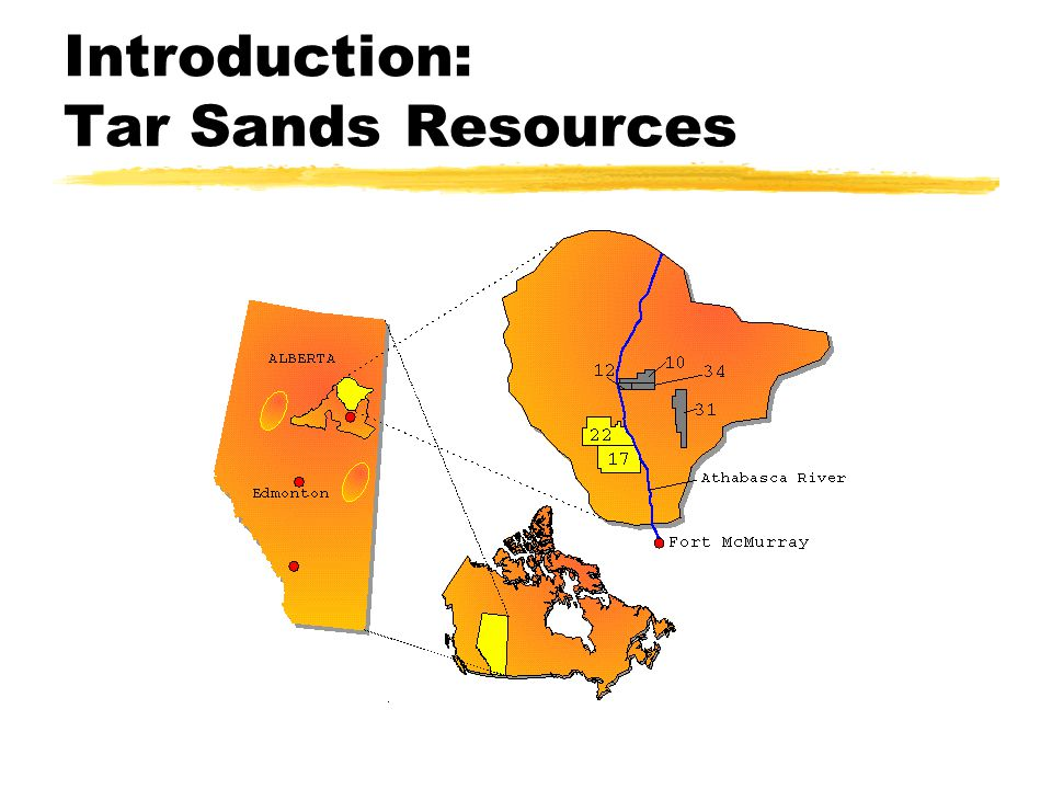 Introduction: Tar Sands Resources