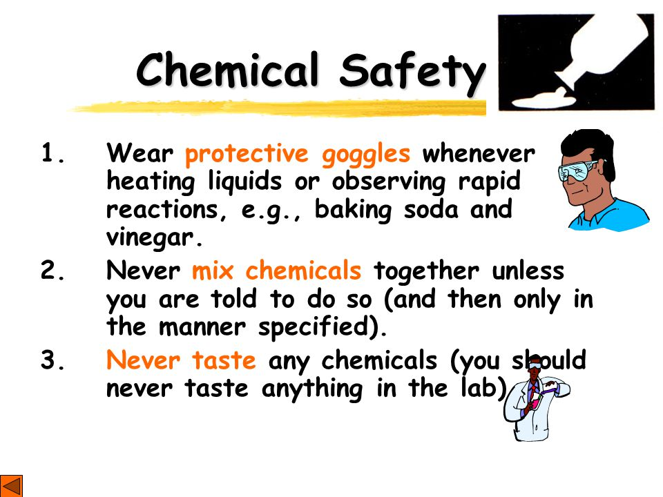 Chemical Safety 1.