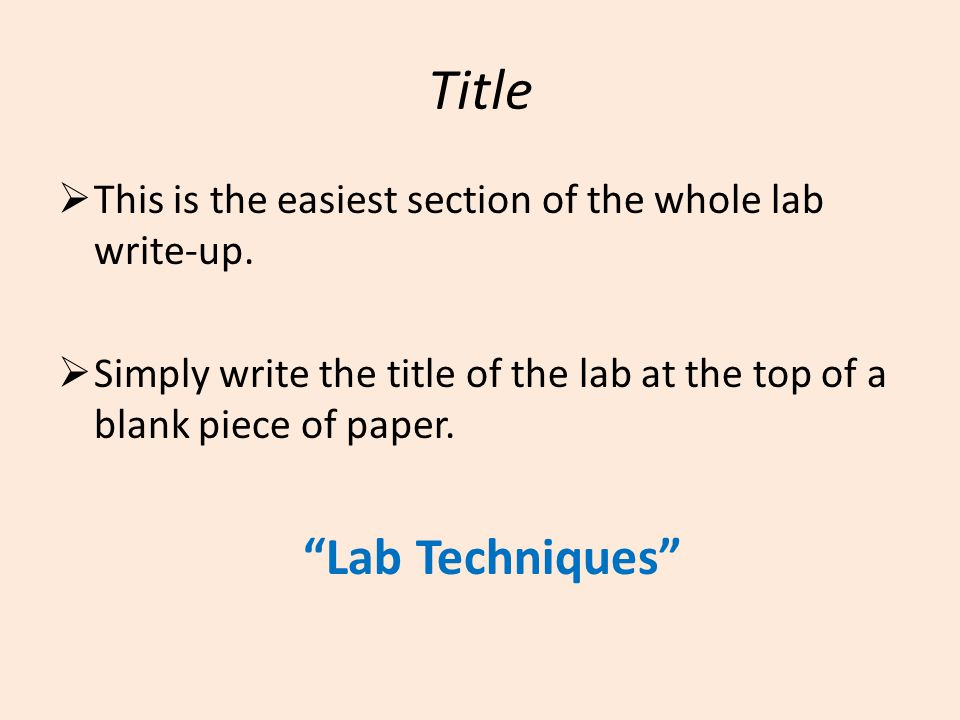 Title  This is the easiest section of the whole lab write-up.
