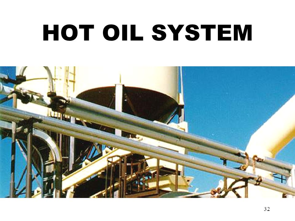 32 HOT OIL SYSTEM