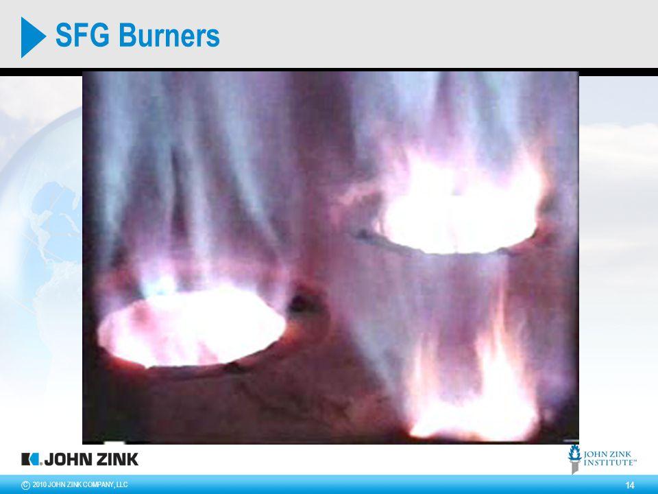 2010 JOHN ZINK COMPANY, LLCC 14 SFG Burners
