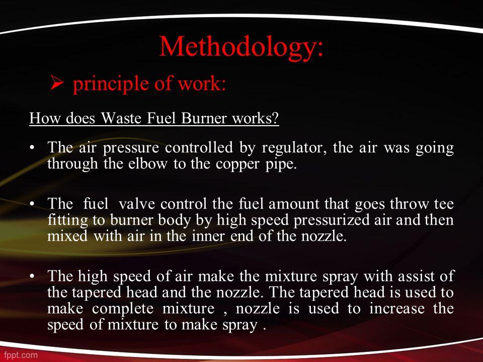 How does Waste Fuel Burner works.