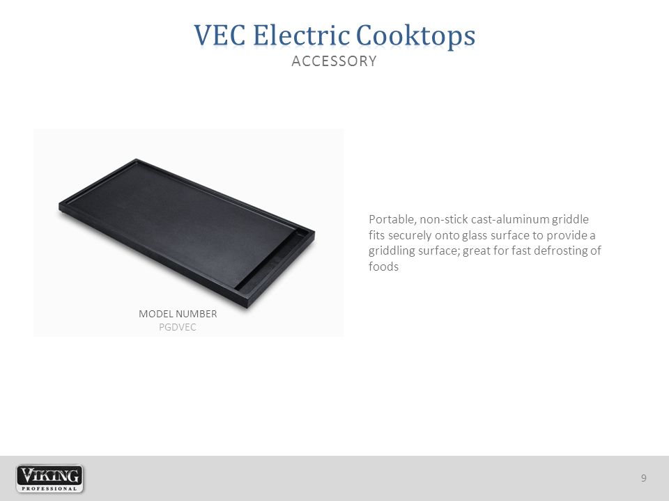 10 GAS COOKTOPS Available in Stainless Steel (order as Natural or LP) ELECTRIC COOKTOPS Available in Stainless Steel with Black Glass