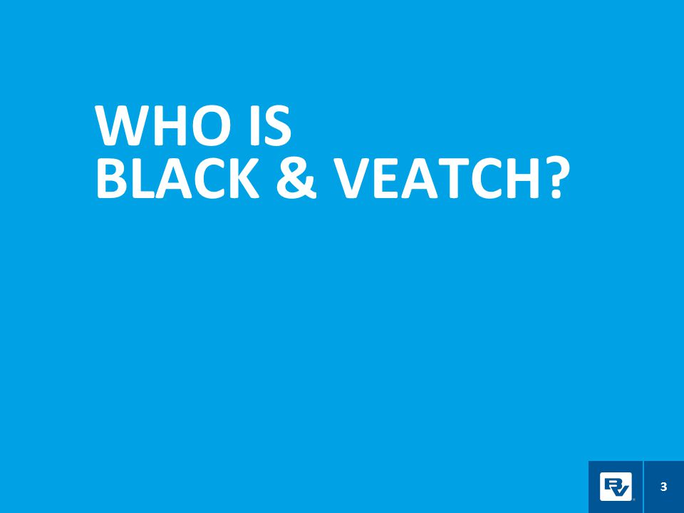 WHO IS BLACK & VEATCH? 3