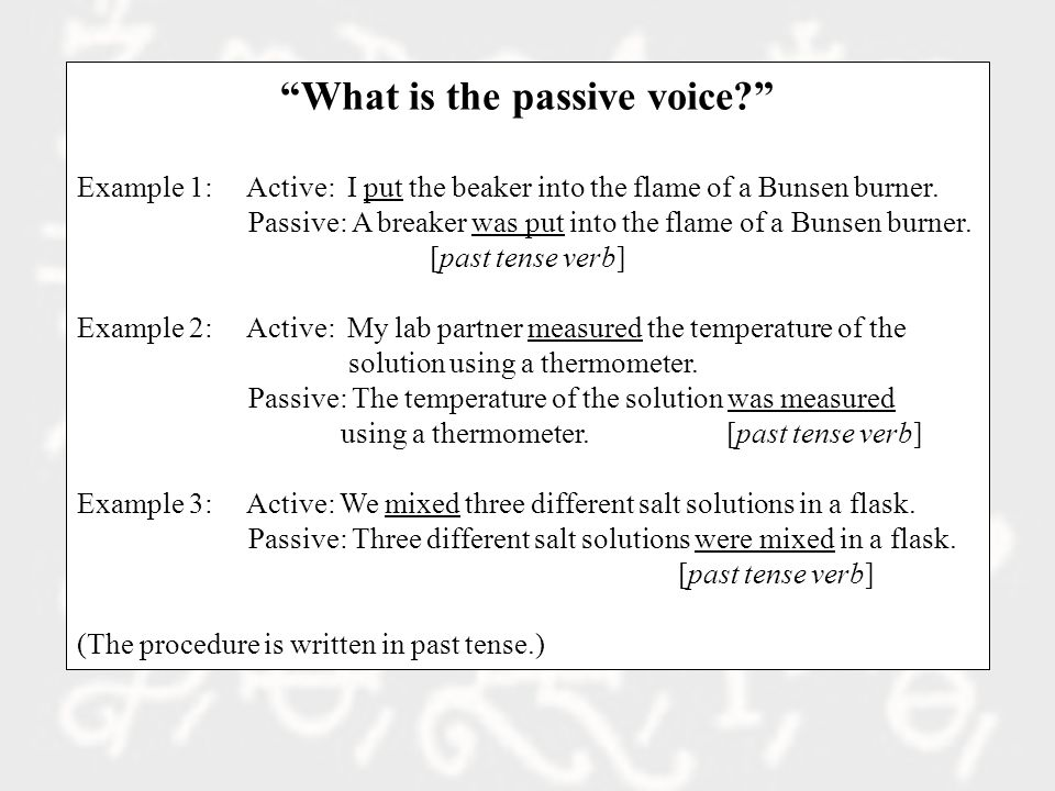 How to Write the Abstract 1.What was done and why.