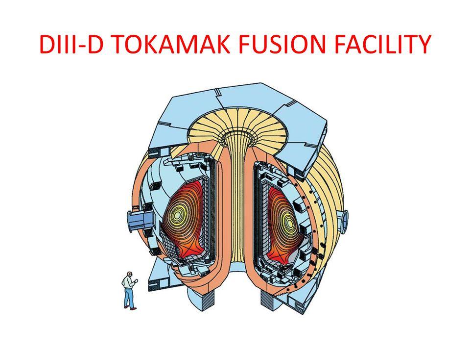DIII-D TOKAMAK FUSION FACILITY