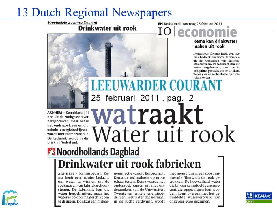 13 Dutch Regional Newspapers