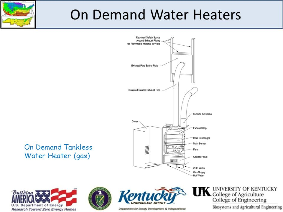 On Demand Water Heaters On Demand Tankless Water Heater (gas)
