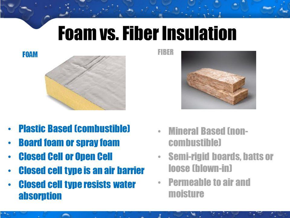 Foam vs.