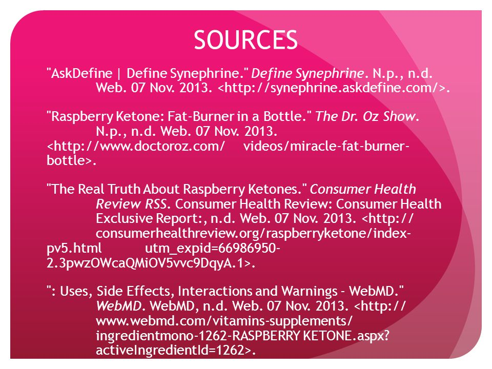 SOURCES AskDefine | Define Synephrine. Define Synephrine.