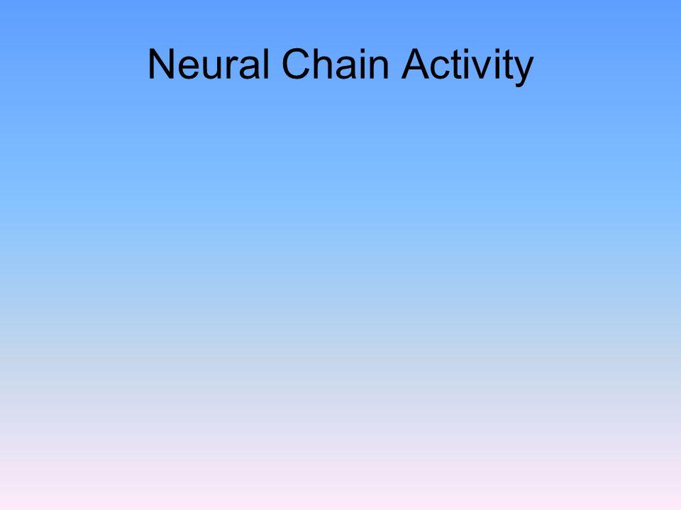 Neural Chain Activity