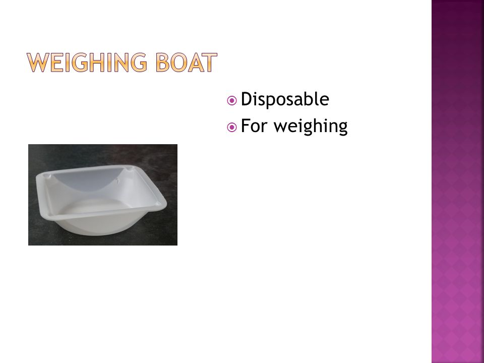  Disposable  For weighing