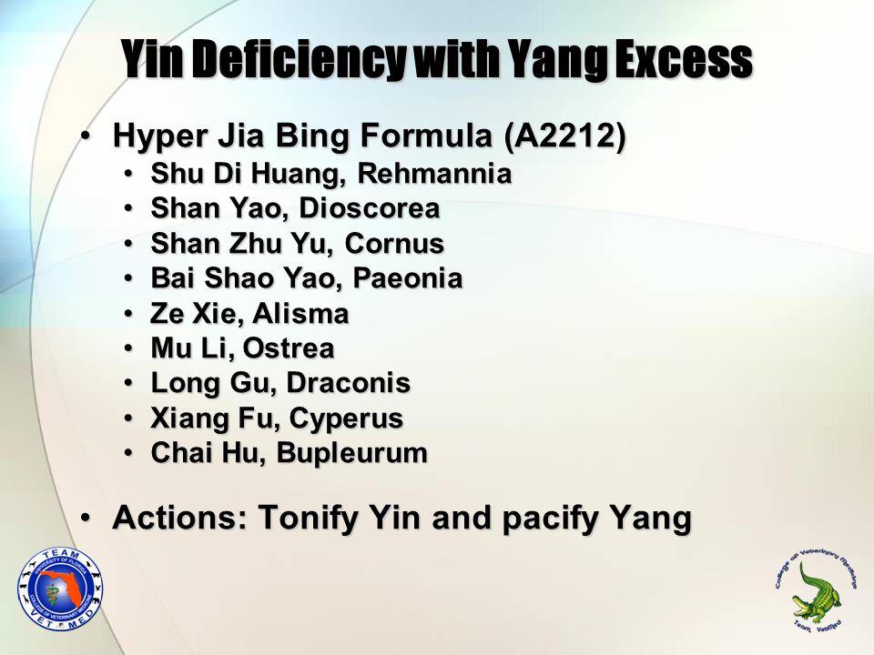 Hyper Jia Bing Formula (A2212)Hyper Jia Bing Formula (A2212) Shu Di Huang, RehmanniaShu Di Huang, Rehmannia Shan Yao, DioscoreaShan Yao, Dioscorea Sha