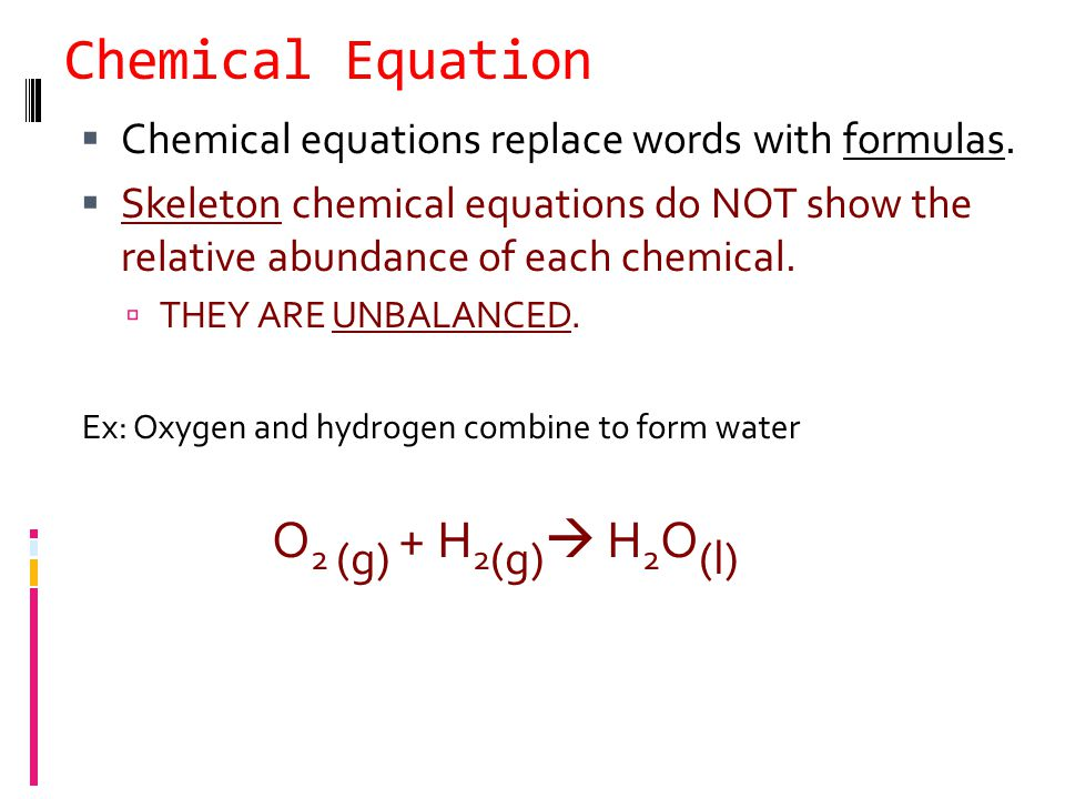 Examples of Combustion Rxns  C 6 H 6 + O 2  CO 2 + H 2 O (benzene)  CH 4 + O 2  CO 2 + H 2 O (methane) Ex: Write a balanced equation for the complete combustion of glucose (C 6 H 12 O 6 ).