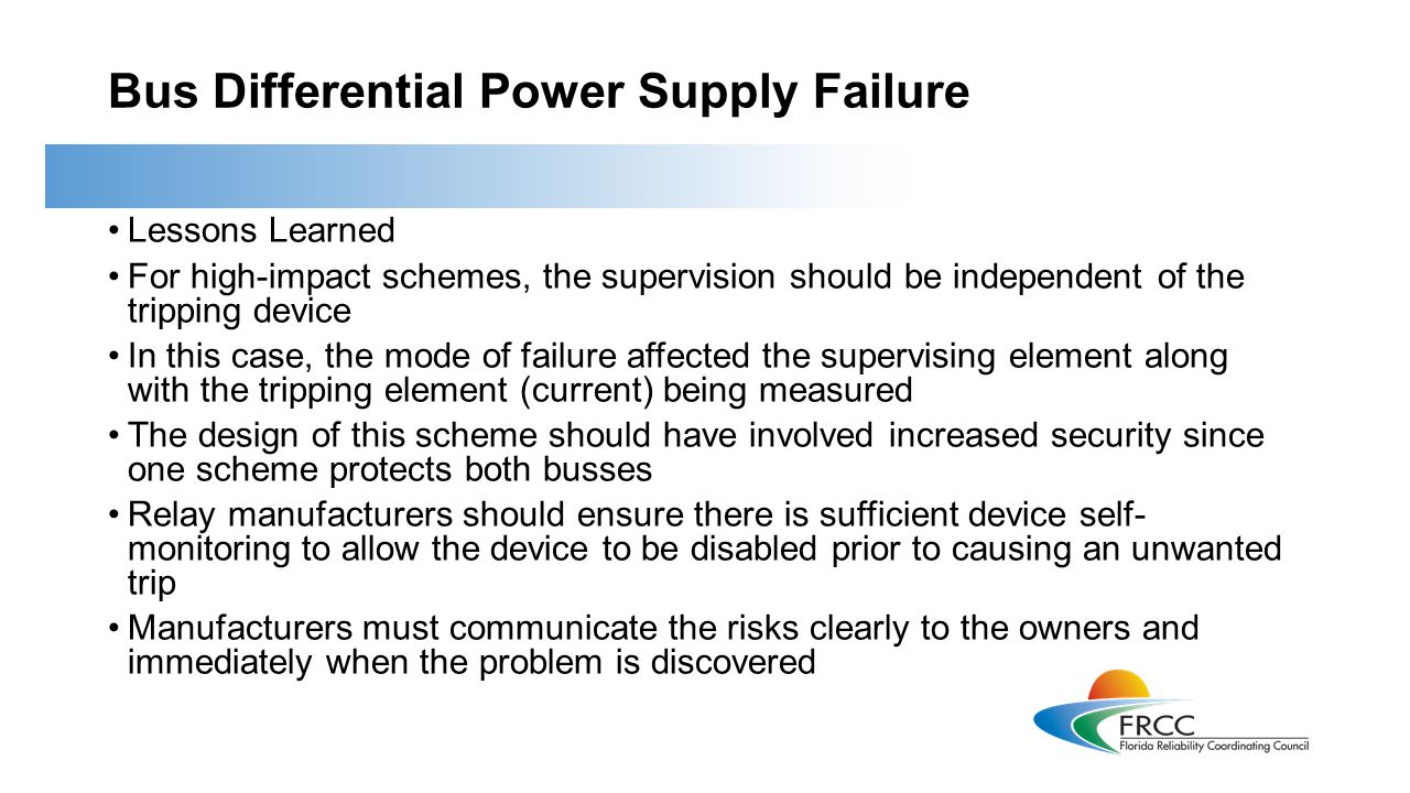 Loss of Multiple Generators Due to Control Air Problems On April 17, 2013, NERC published Lesson Learned #LL20130402.