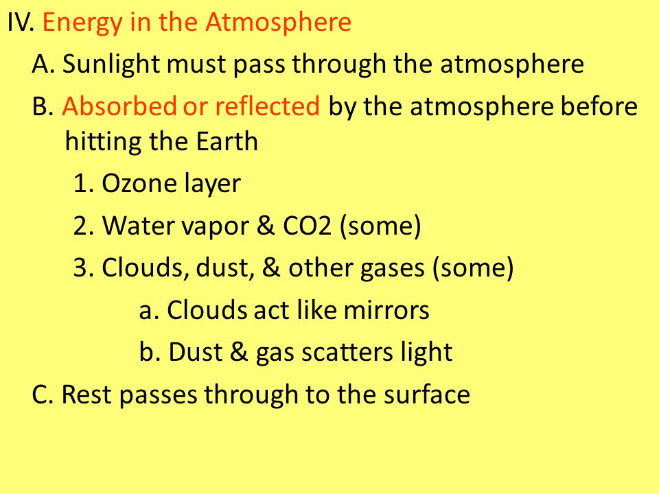 Dry Climates VI.Dry Climates A.