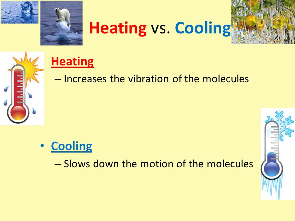 Heating vs.