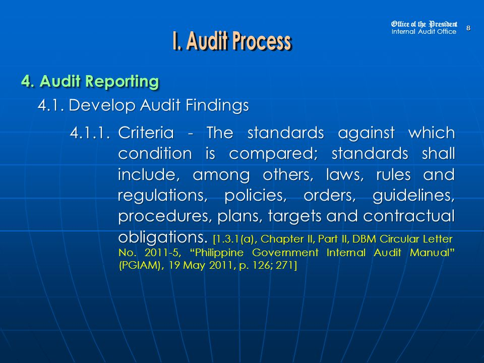 4.1.Develop Audit Findings 4.1.9. Cause 4.1.9. Cause, Proximate Cause 4.